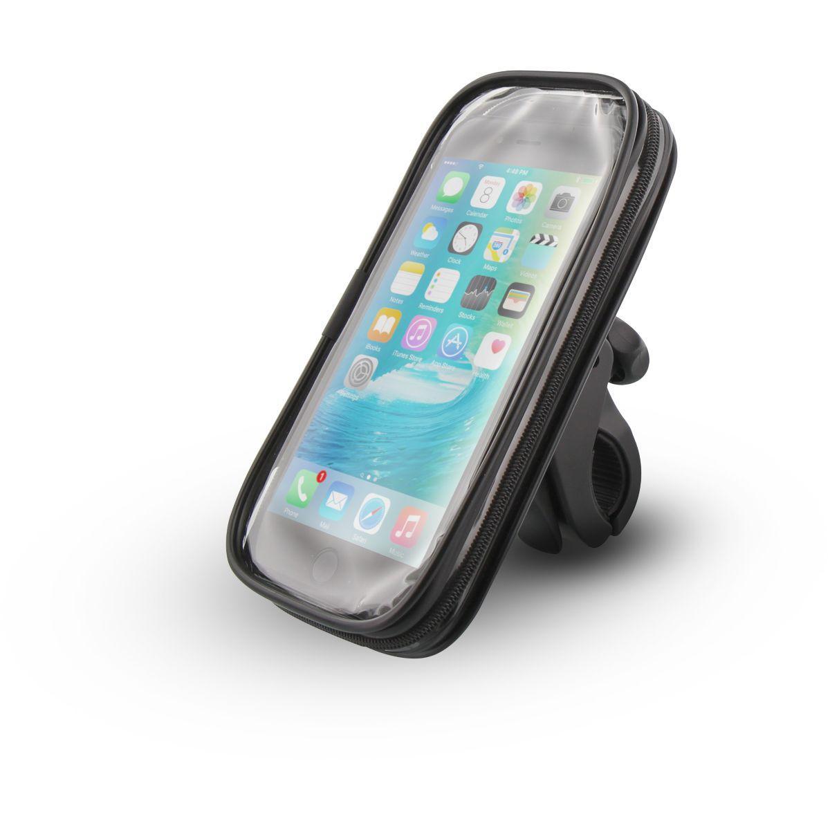 Support tnb smartphones v�lo/moto coque semi-rigide (photo)