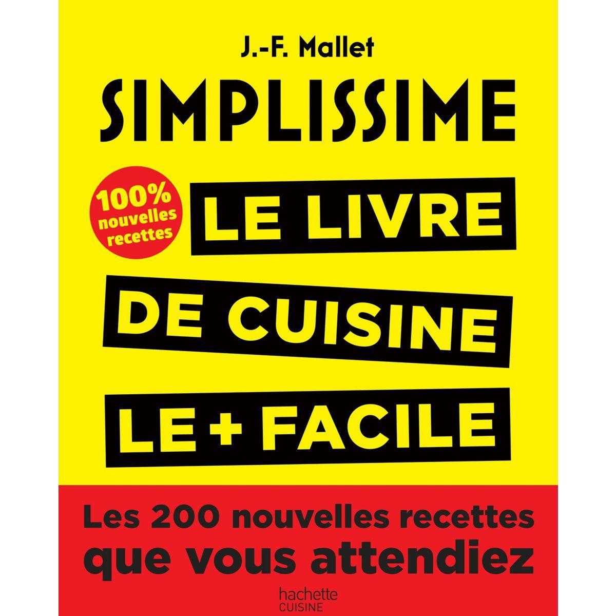 Livre de cuisine hachette simplissime les 200 nouvelles recettes (photo)