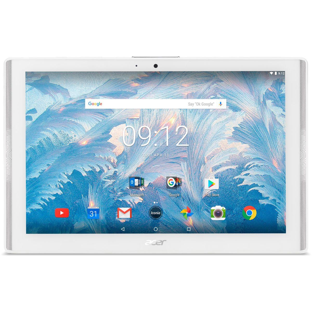 Tablette android acer iconia one 10 b3-a40-k6u9+carte16go (photo)