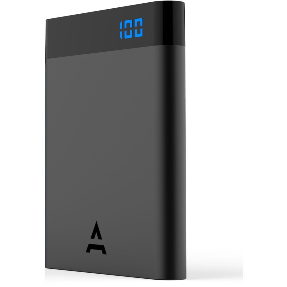 Batterie externe adeqwat 4000 mah noir (photo)