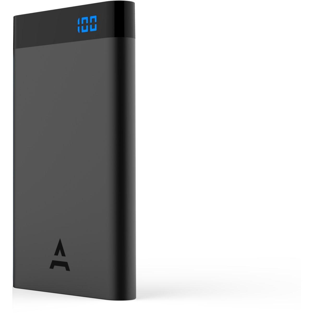 Batterie externe adeqwat 8000 mah noir - livraison offerte : code liv (photo)