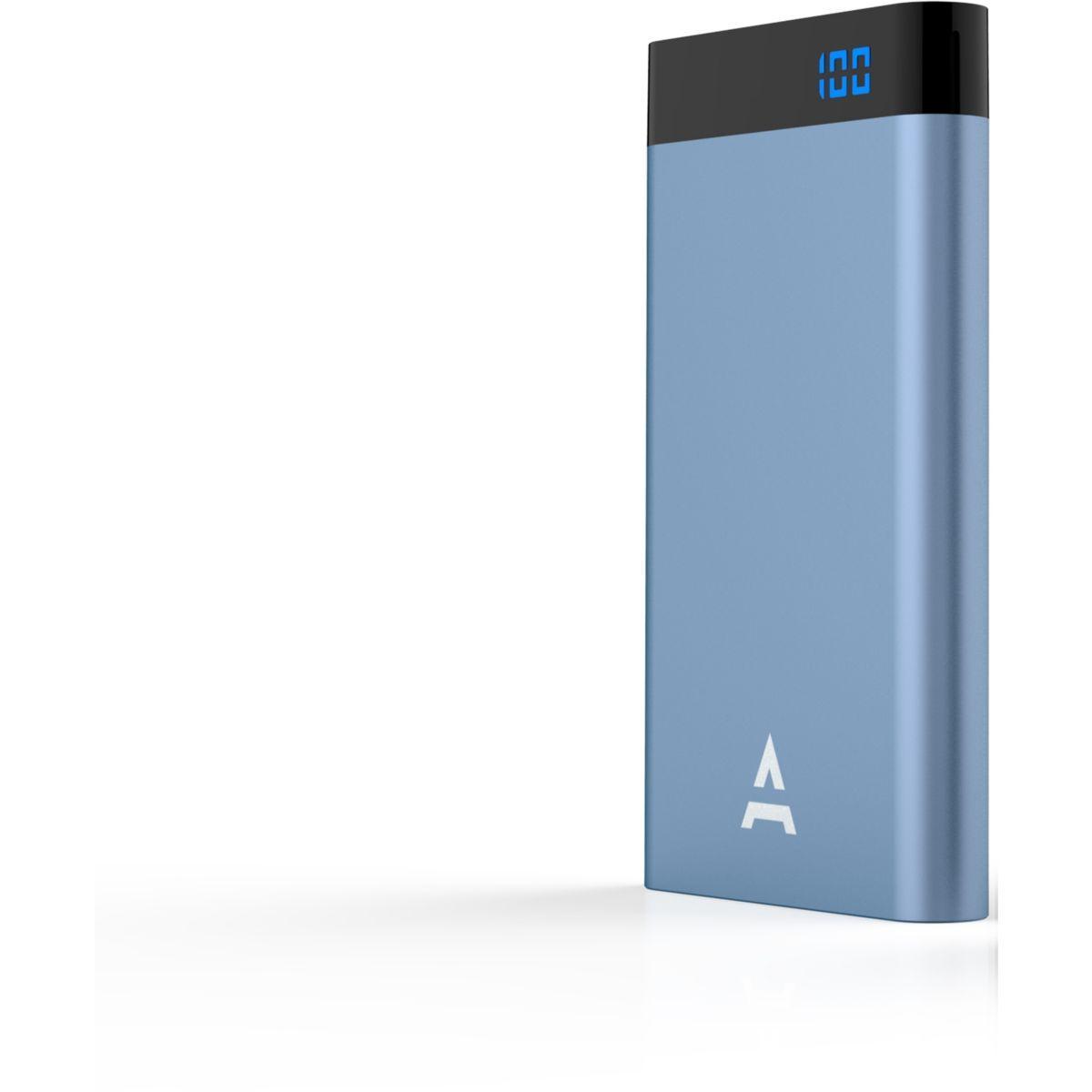 Batterie externe adeqwat 8000 mah bleu - livraison offerte : code liv (photo)
