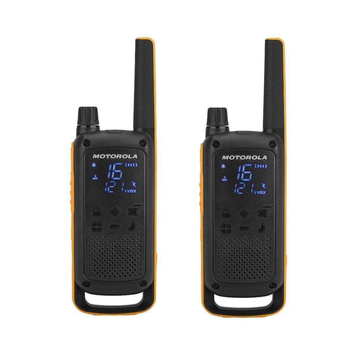 Talkie walkie motorola t82 extreme twin - 15% de remise imm�diate avec le code : cadeau15 (photo)