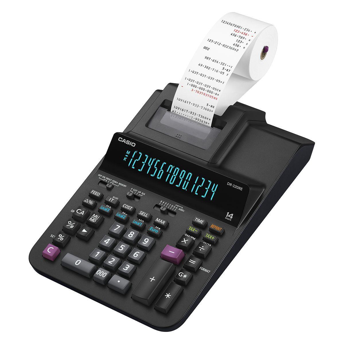 Calculatrice imprimante casio dr-320re - 20% de remise imm�diate avec le code : deal20 (photo)