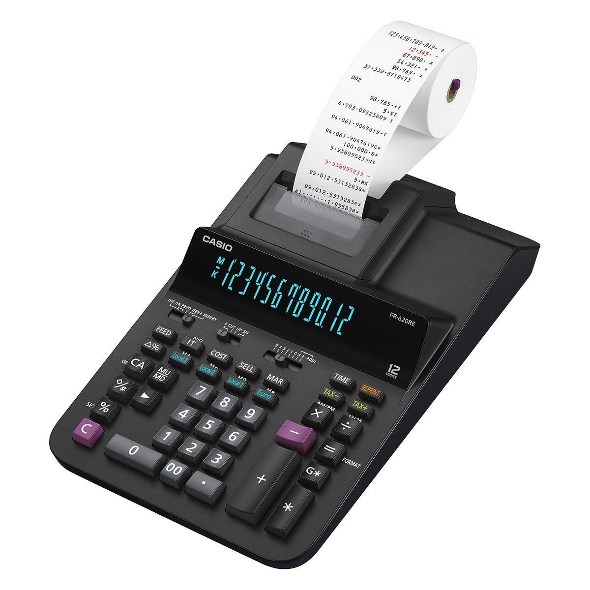 Calculatrice imprimante casio fr-620re - 20% de remise imm�diate avec le code : deal20 (photo)