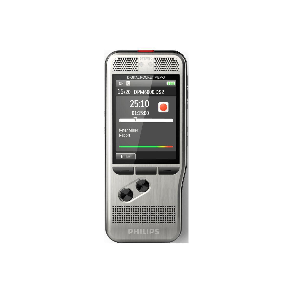 Dictaphone philips pocket-m�mo dpm6000 - 10% de remise imm�diate avec le code : school10 (photo)
