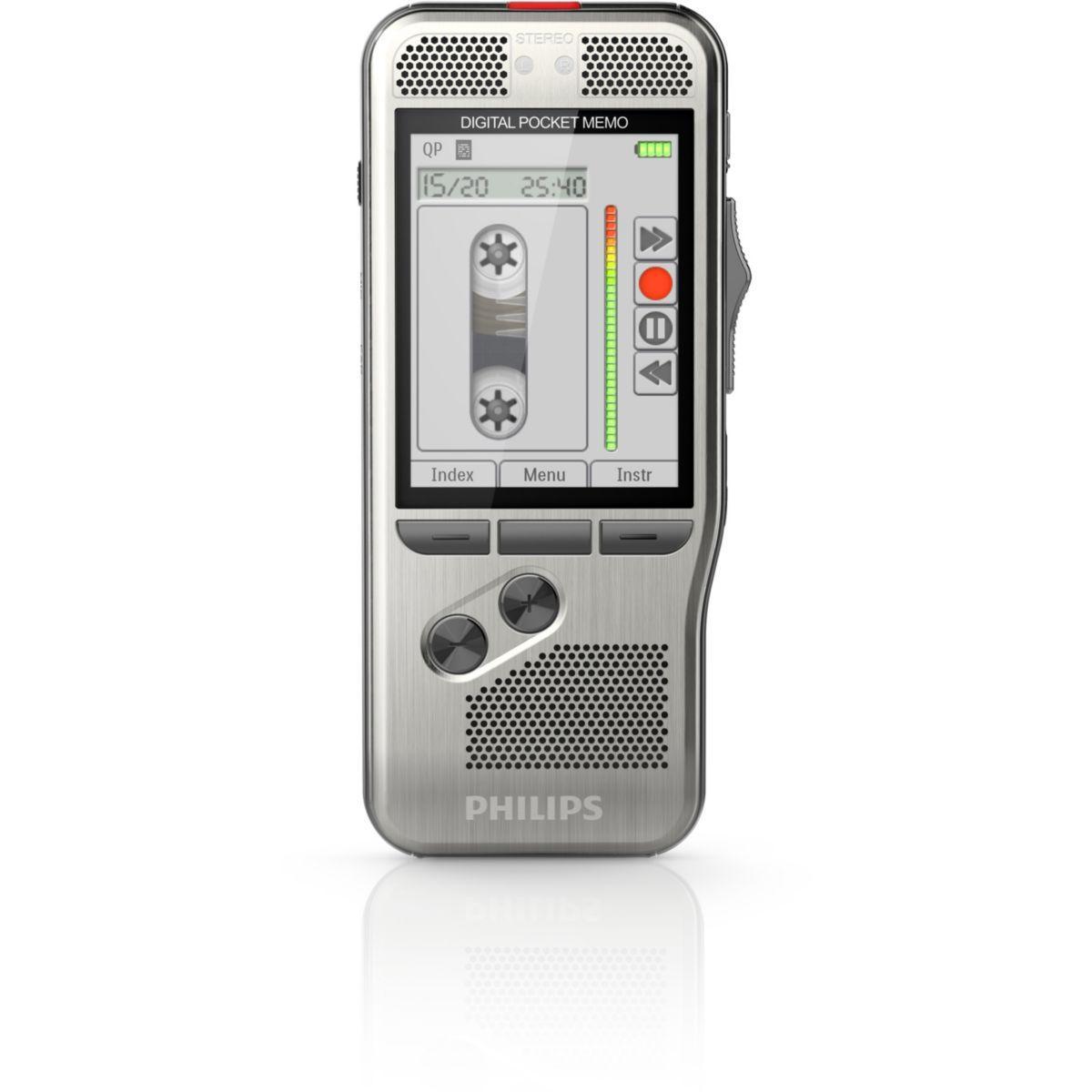 Dictaphone philips pocket-m�mo dpm7200 - 10% de remise imm�diate avec le code : school10 (photo)