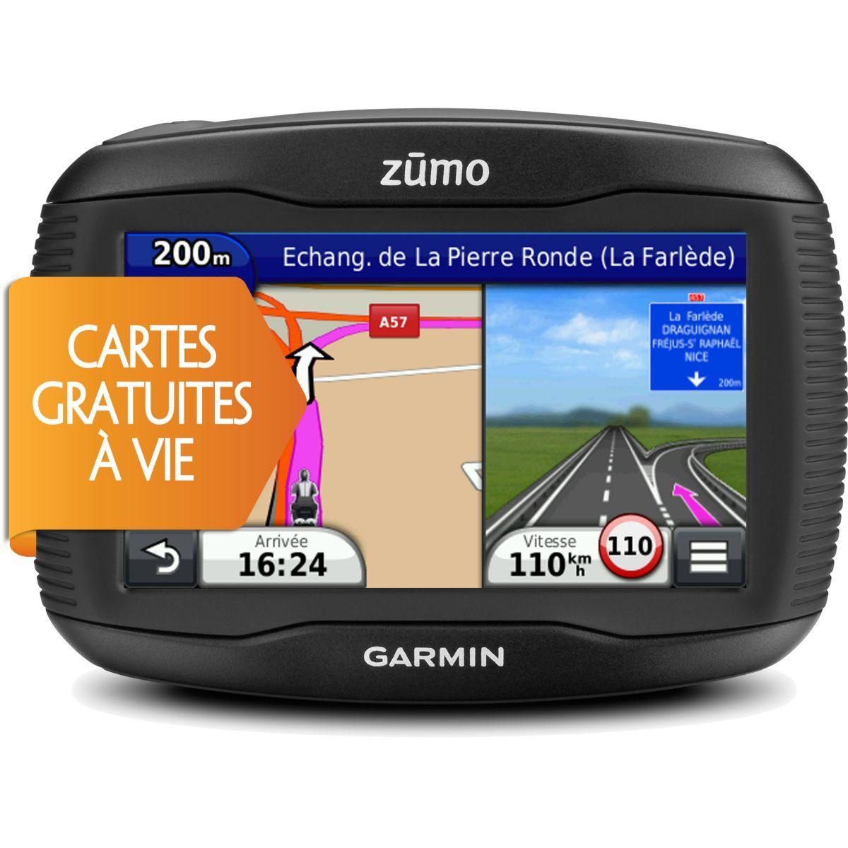 Gps garmin zumo 395 travel edition - livraison offerte : code livprem