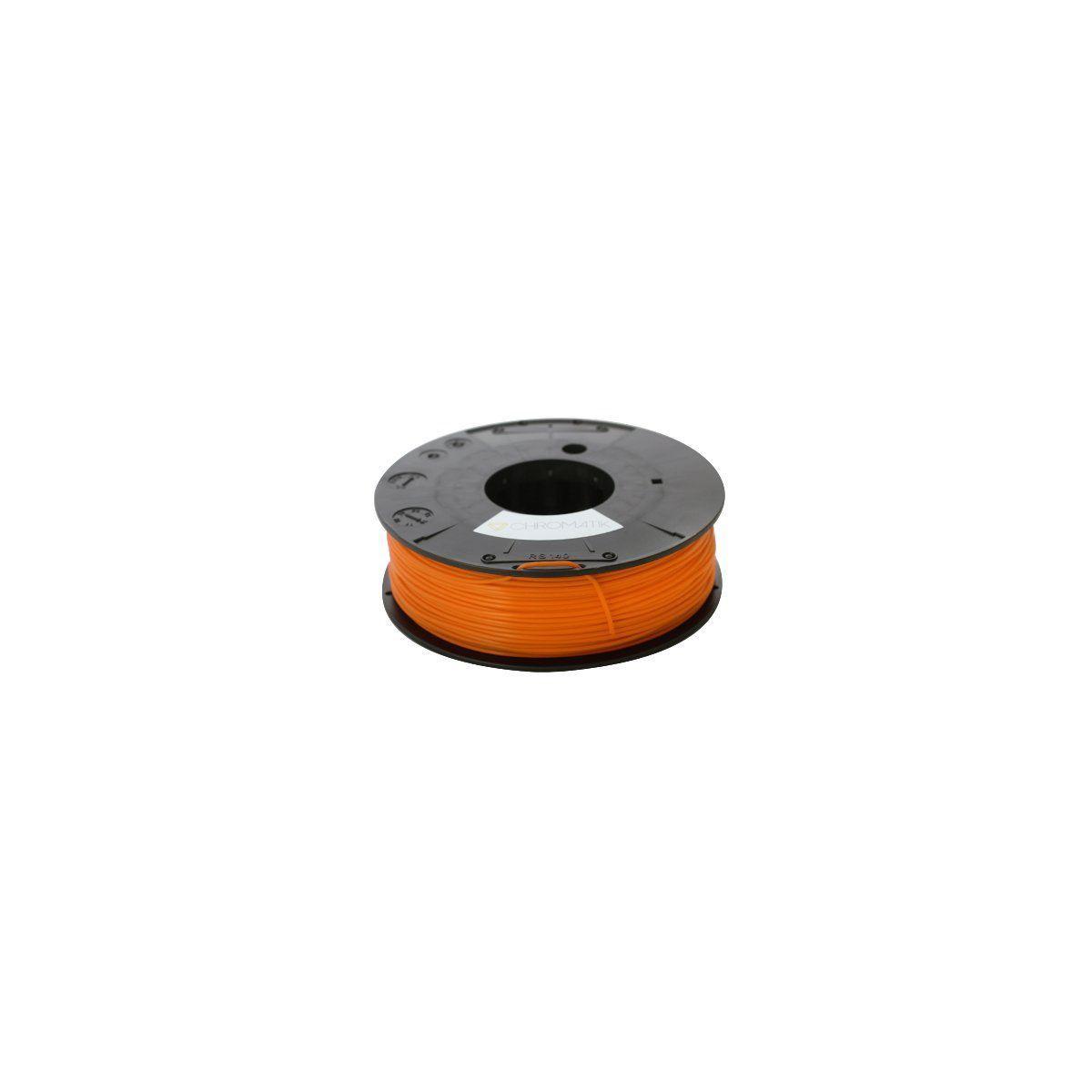 Filament 3d dagoma filament pla chromatik 250g orange - 2% de remise imm�diate avec le c