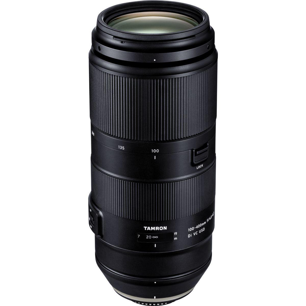 Objectif pour reflex tamron 100-400mm f 4.5-6.3 di vc usd nikon - 5% de remise imm�diate avec le code : deal5