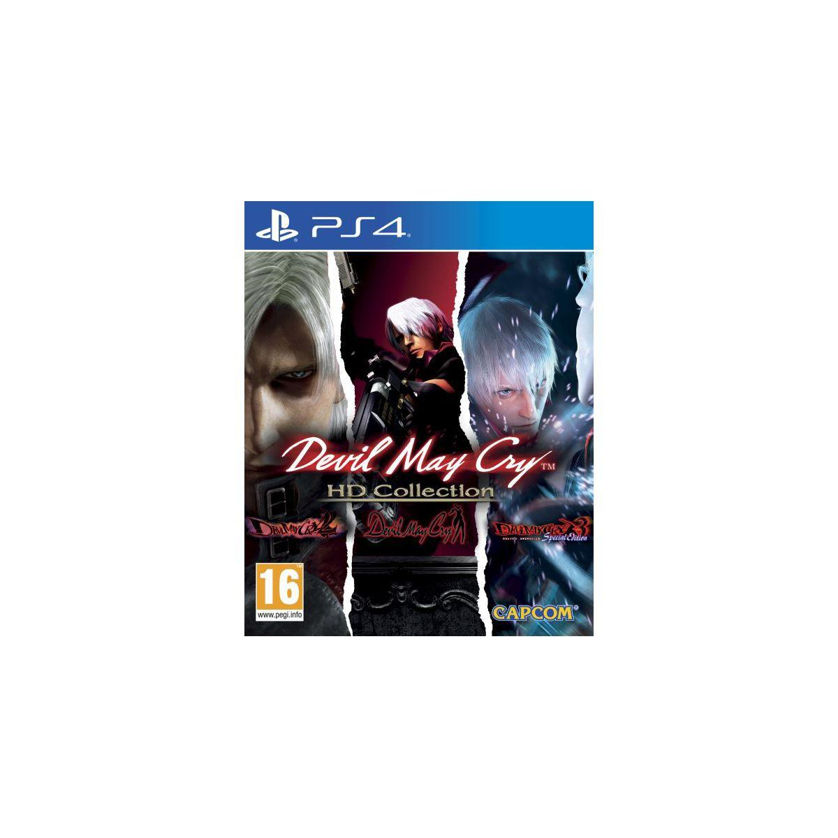 Jeu ps4 capcom devil may cry hd collection (photo)
