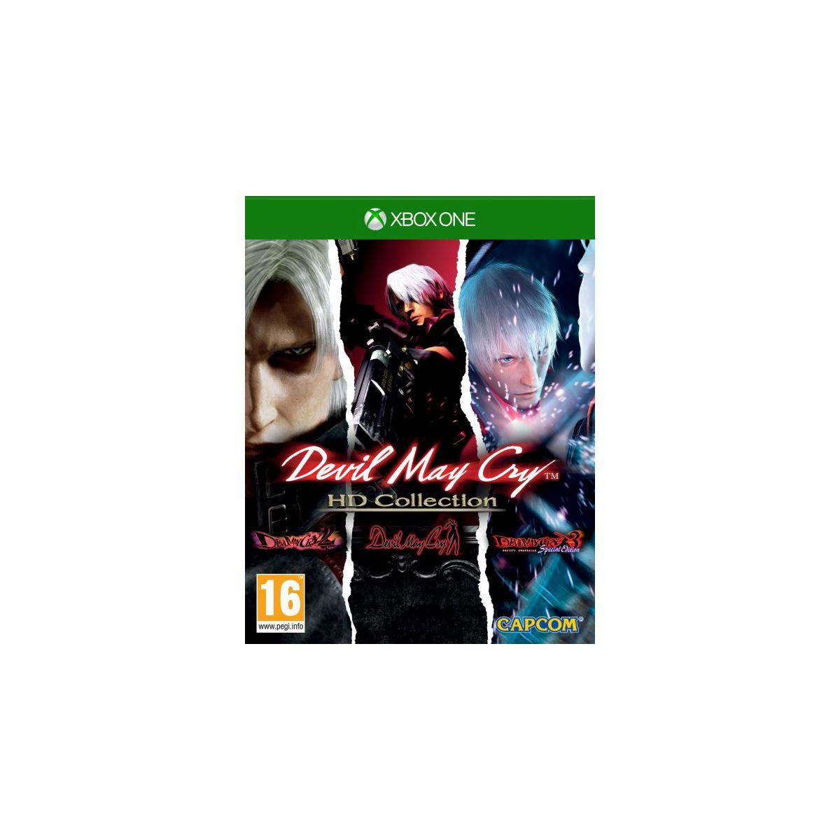 Jeu xbox one capcom devil may cry hd collection