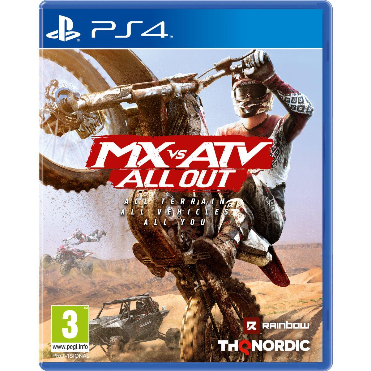 Jeu ps4 just for games mx vs atv all out (photo)