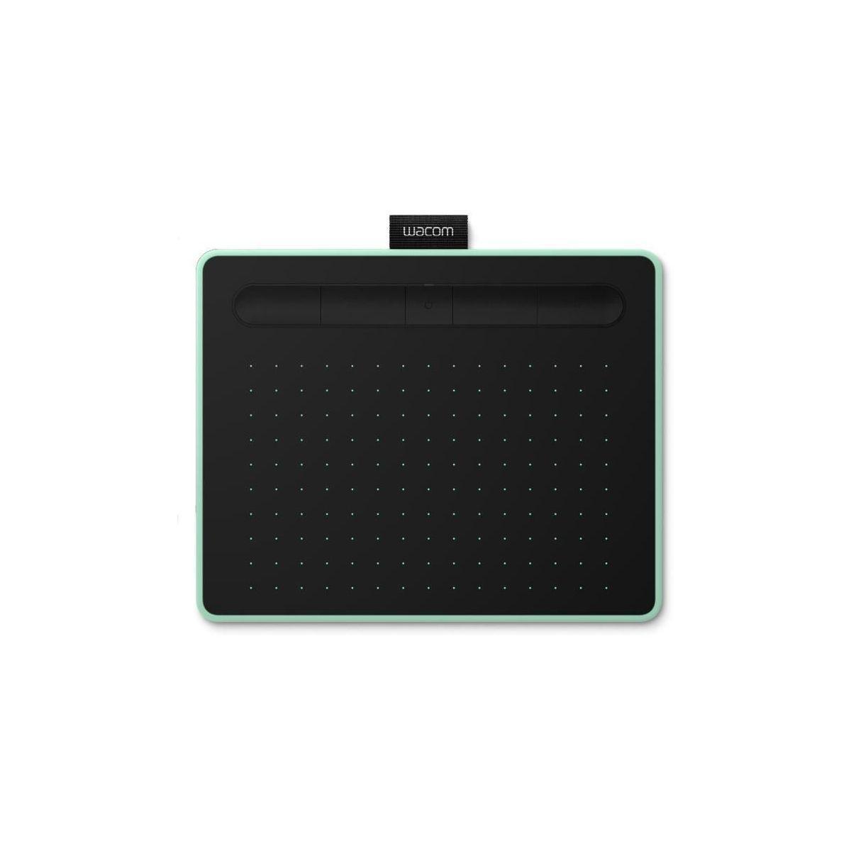 Tablette graph wacom intuos bluetooth int�gr� s pistache - 5% de remise imm�diate avec le code : fete5