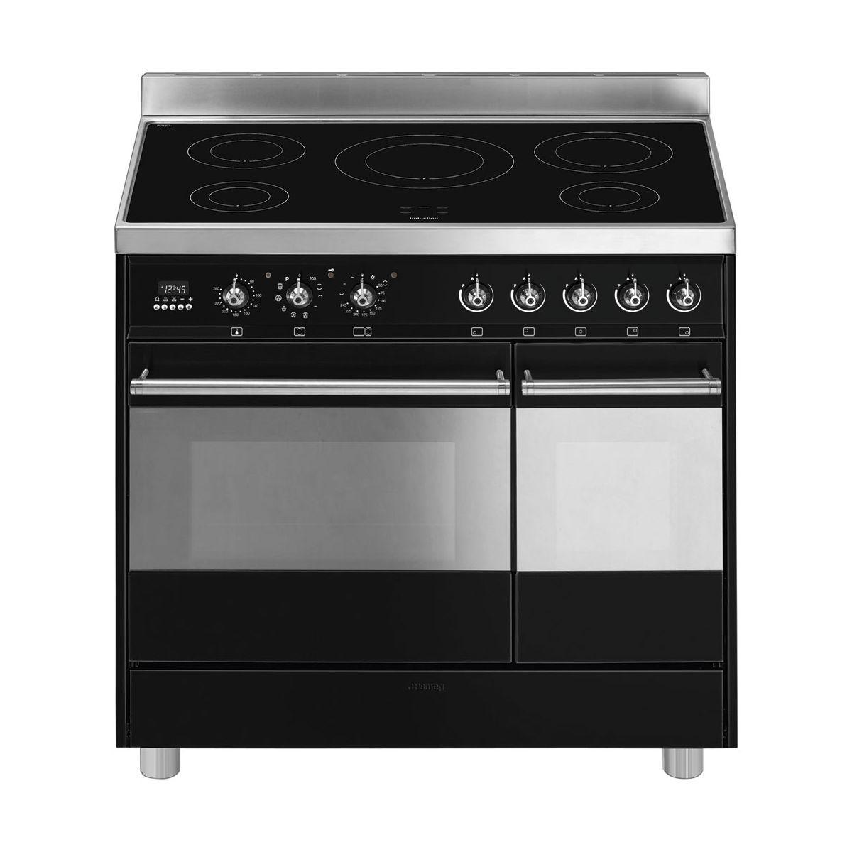 Piano de cuisson induction smeg c92ipbl9 - 15% de remise imm�diate avec le code : gam15 (photo)