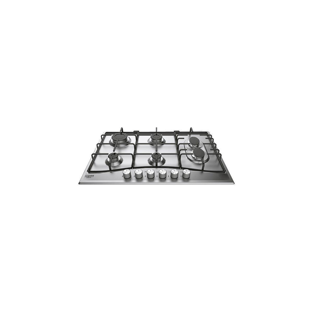 Table gaz hotpoint pcn762s/ix/ha - 7% de remise imm�diate avec le code : gam7 (photo)