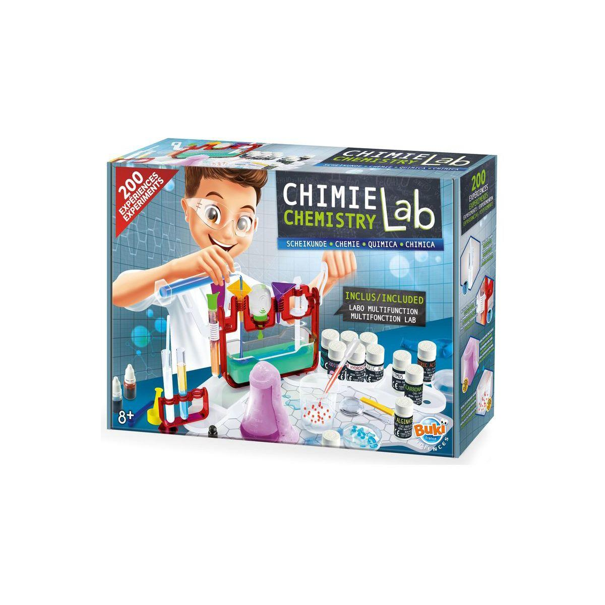 Jeu buki science lab chimie - 2% de remise imm�diate avec le code : fete2 (photo)