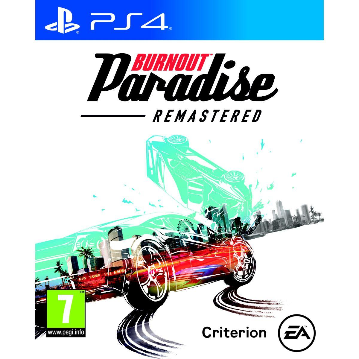 Jeu ps4 electronic arts burnout paradise hd (photo)