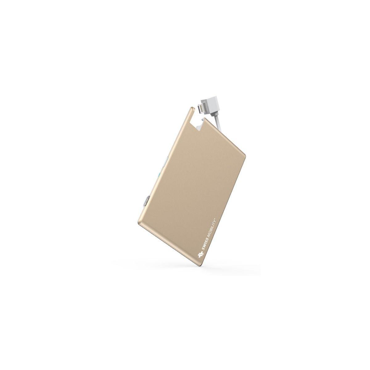 Batterie externe swiss mobility power 1350 mah lightning - 10% de remise imm�diate avec le code : deal10 (photo)