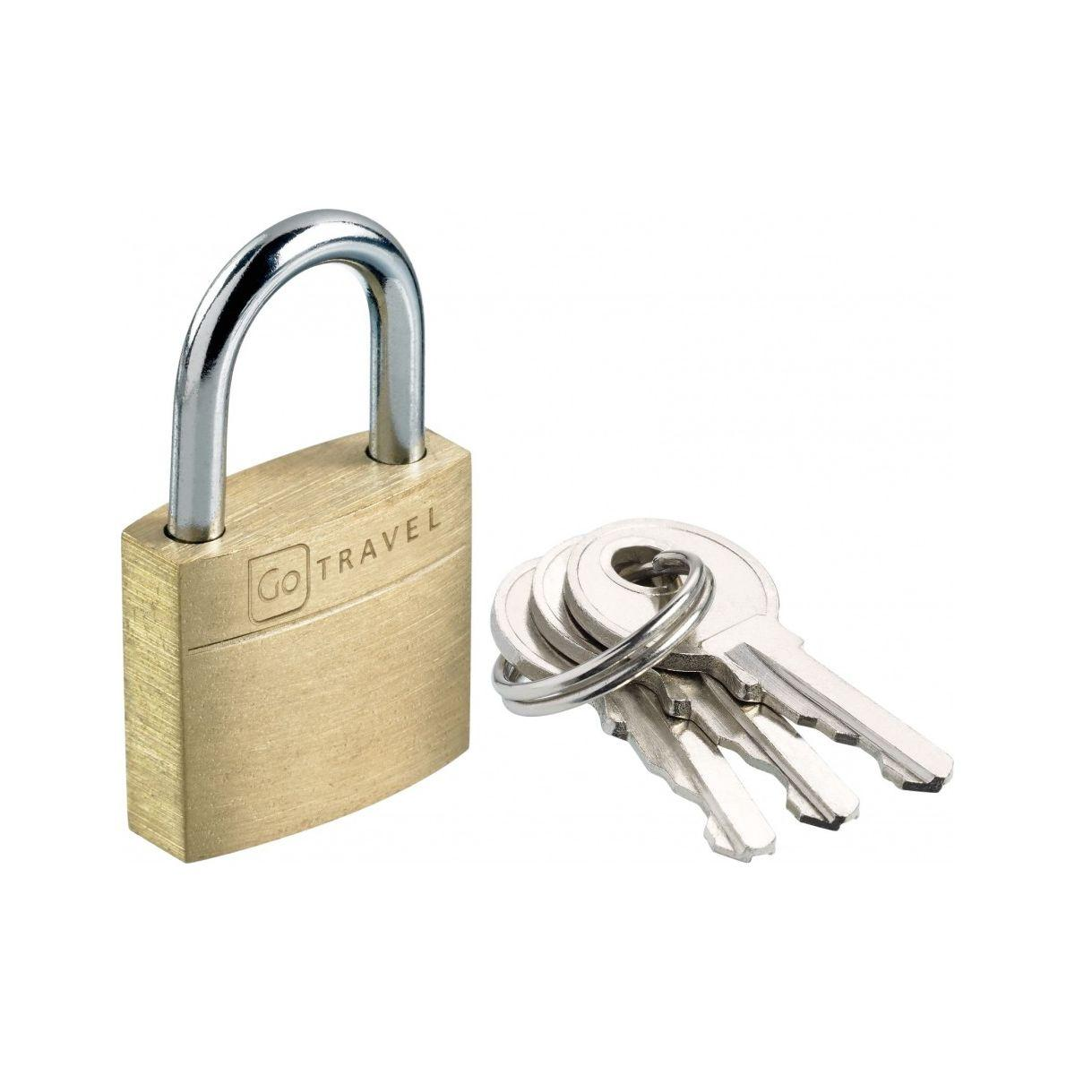 Accessoire go travel cadenas en laiton (photo)
