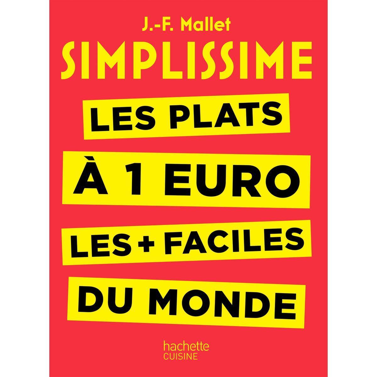Livre de cuisine hachette simplissime les plats � 1 euro (photo)