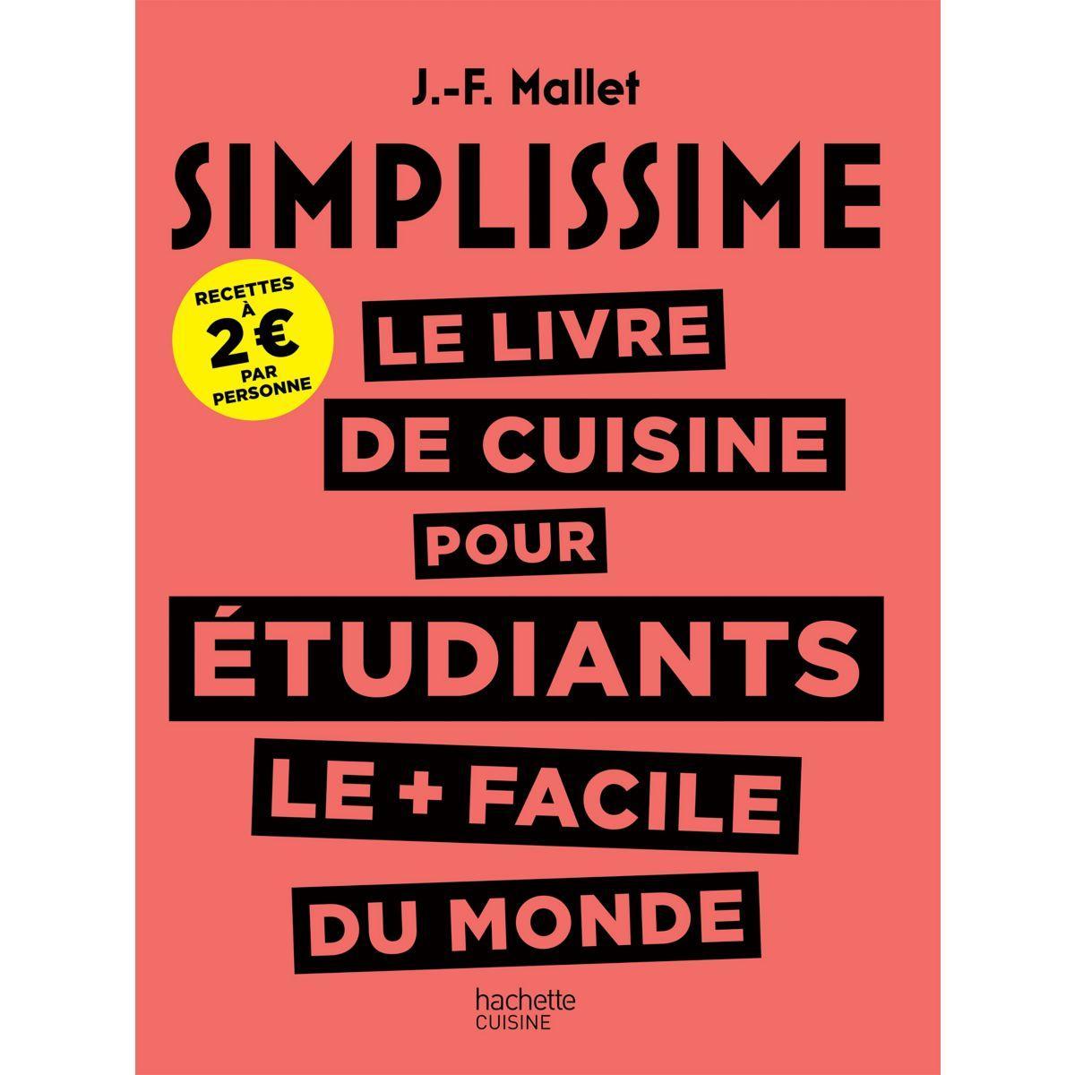 Livre de cuisine hachette simplissime pour �tudiants (photo)