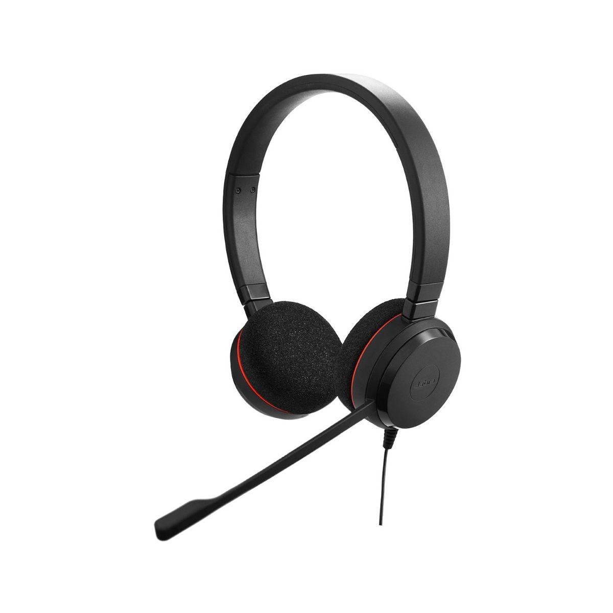 Casque micro t�l�phone fixe jabra evolve 20 (photo)