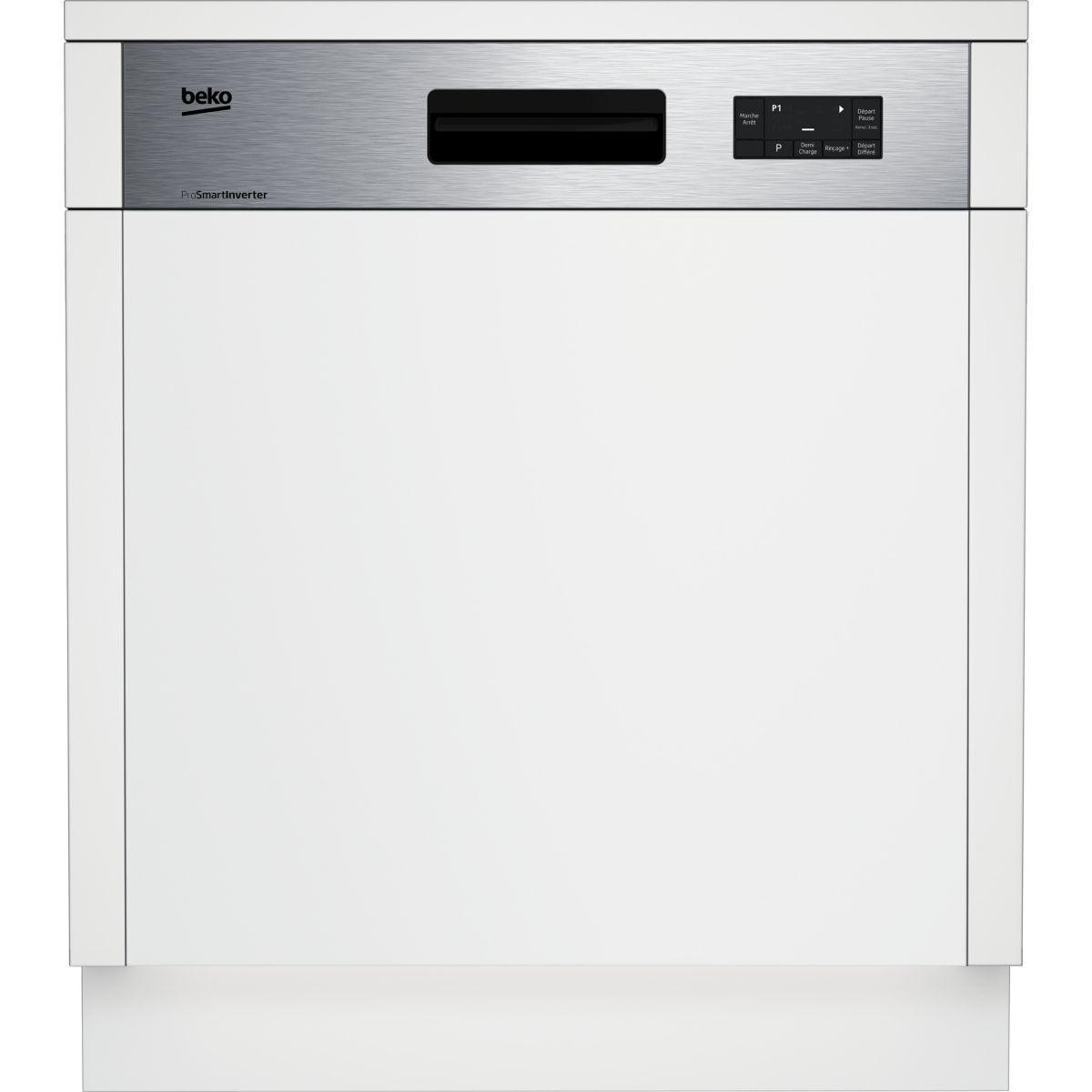 Lave vaisselle encastrable beko pdsn15310x - 20% de remise imm�diate avec le code : gam20