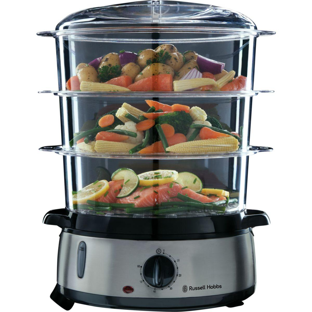 Cuiseur vapeur russell hobbs cook@home 19720-56 (photo)