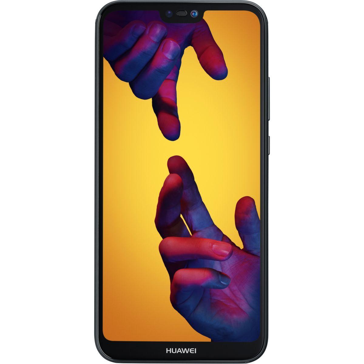 Smartphone huawei p20 lite noir - livraison offerte : code liv