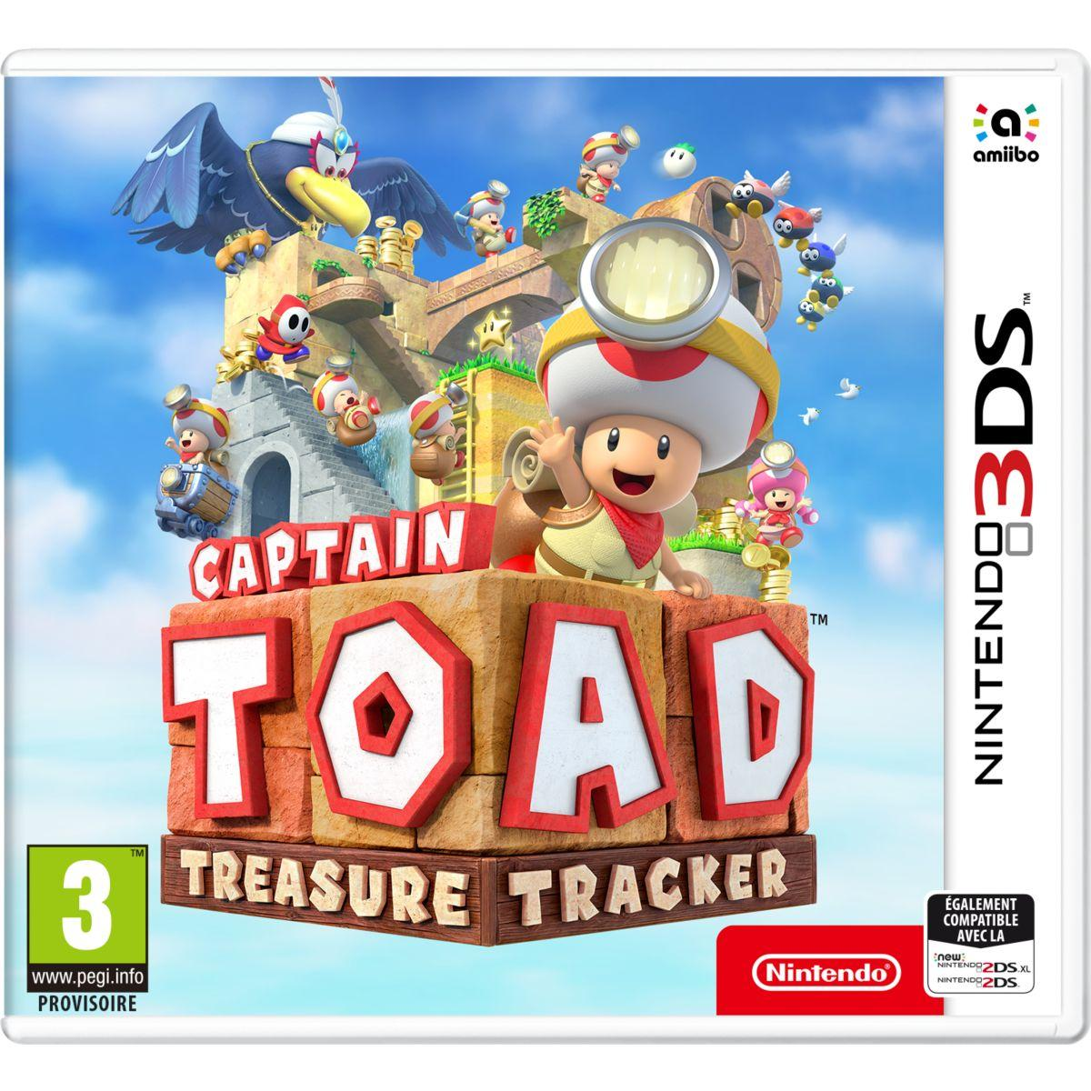 Jeu 3ds nintendo captain toad treasure tracker (photo)