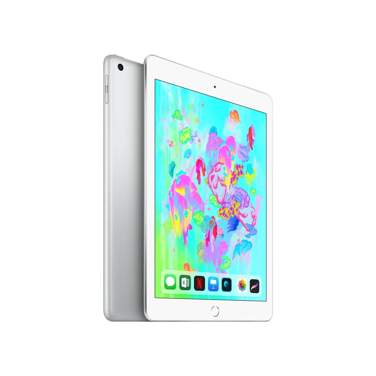 Tablette apple ipad new 128go argent (photo)