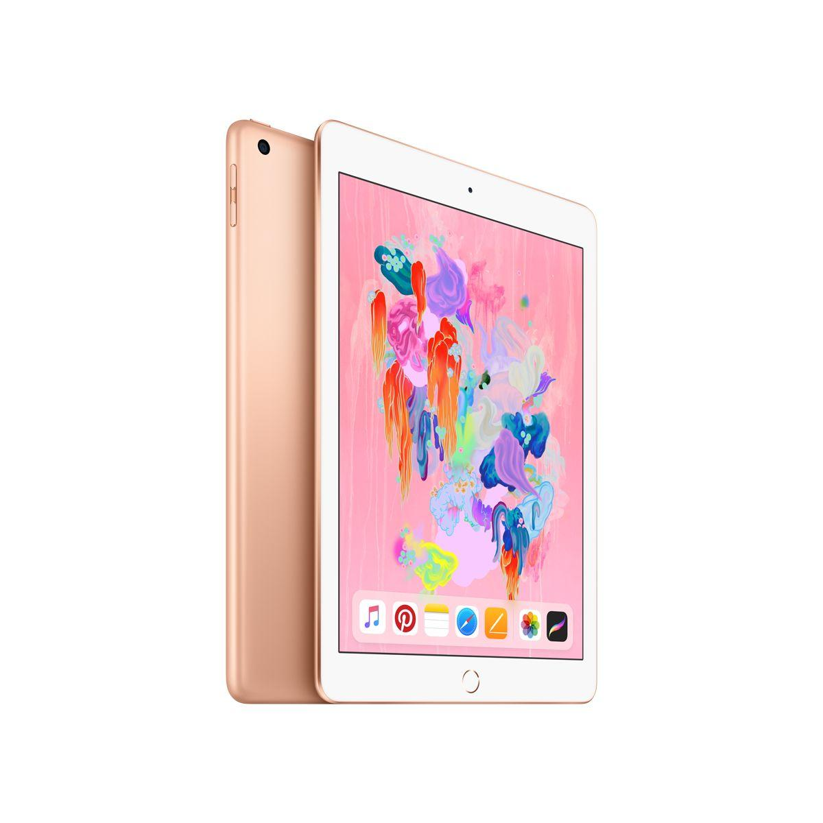 Tablette apple ipad new 128go or (photo)