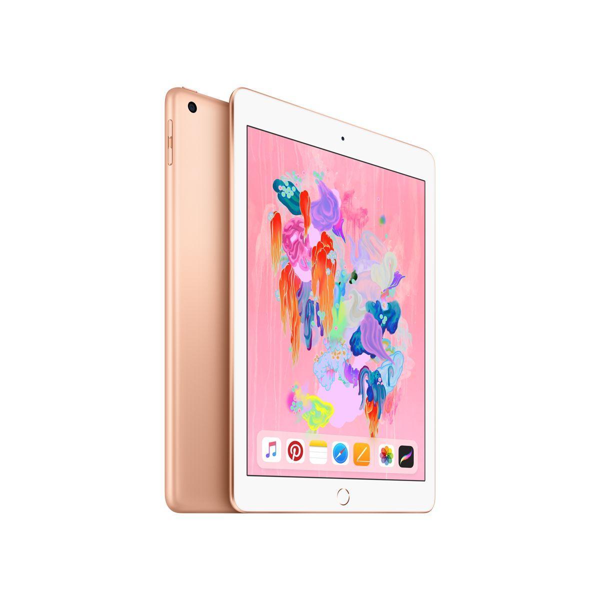 Tablette apple ipad new 128go or (photo)