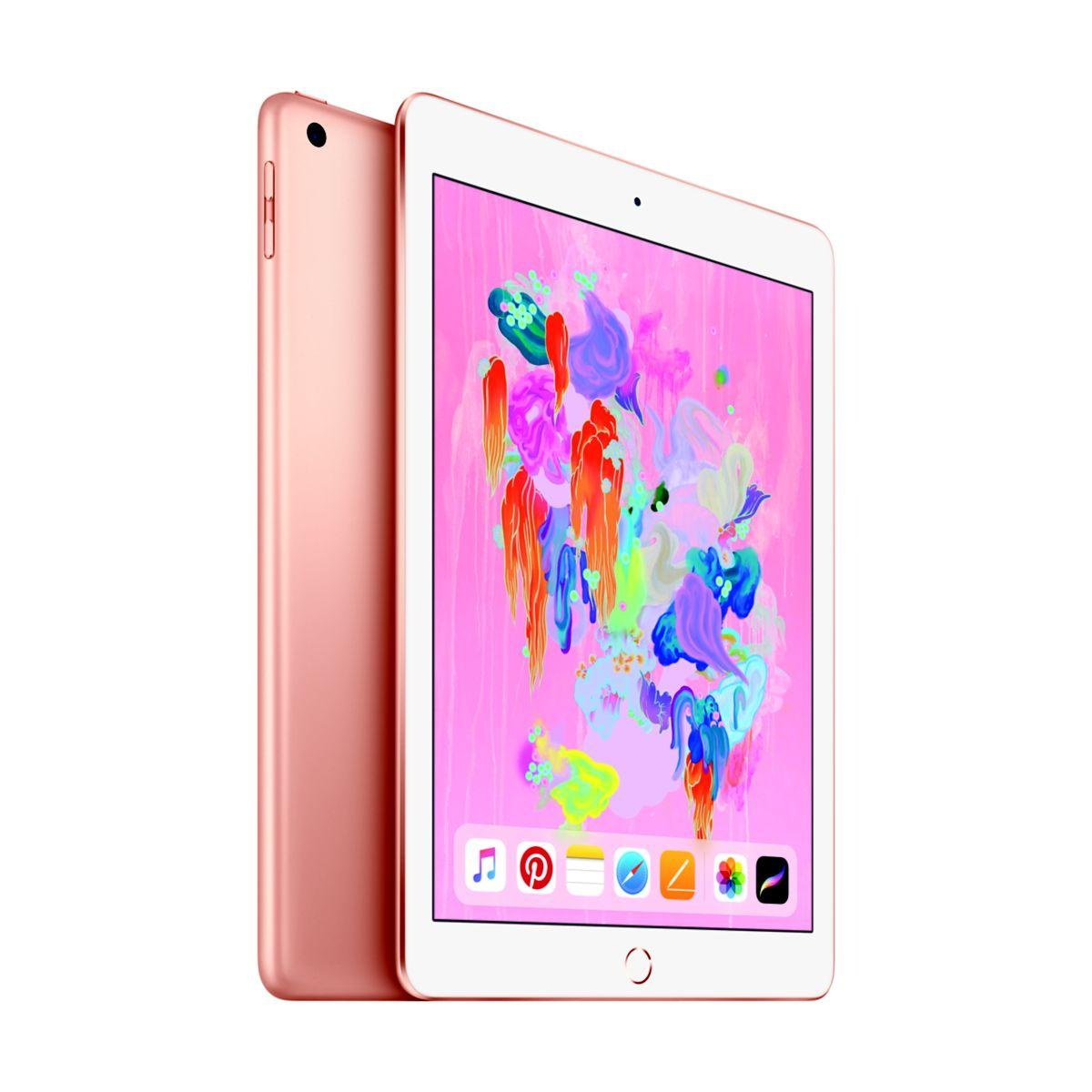 Tablette apple ipad new 128go cell or (photo)