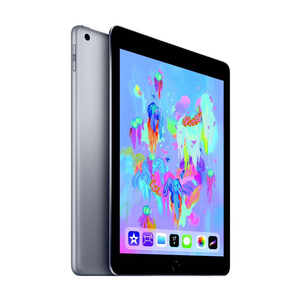 Tablette apple ipad new 128go cell gris sid (photo)