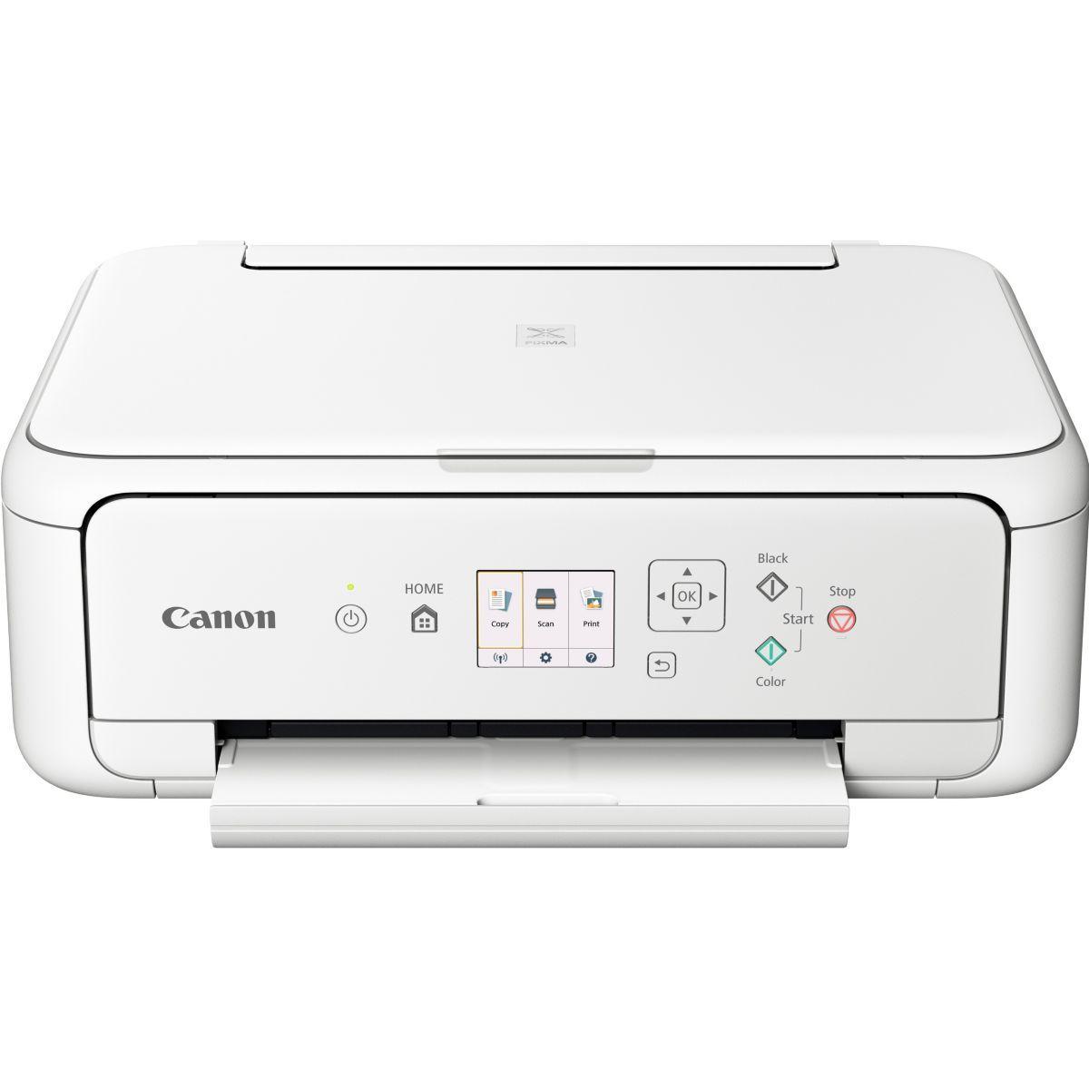 Imprimante jet d'encre canon ts 5151 blanc - livraison offerte : code premium (photo)