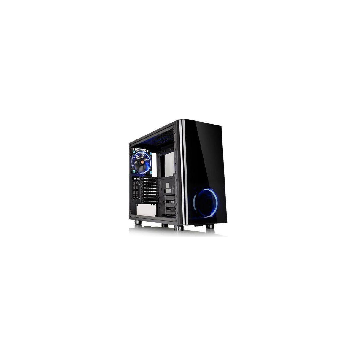 Bo�tier thermaltake view 31 tg riing ble - 2% de remise imm�diate avec le code : fete2 (photo)