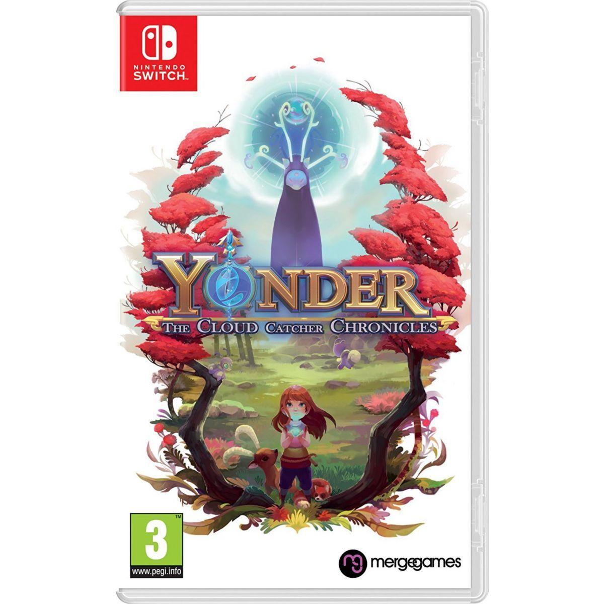 Jeu switch just for games yonder the cloud catcher chronicles - 2% de remise imm�diate a