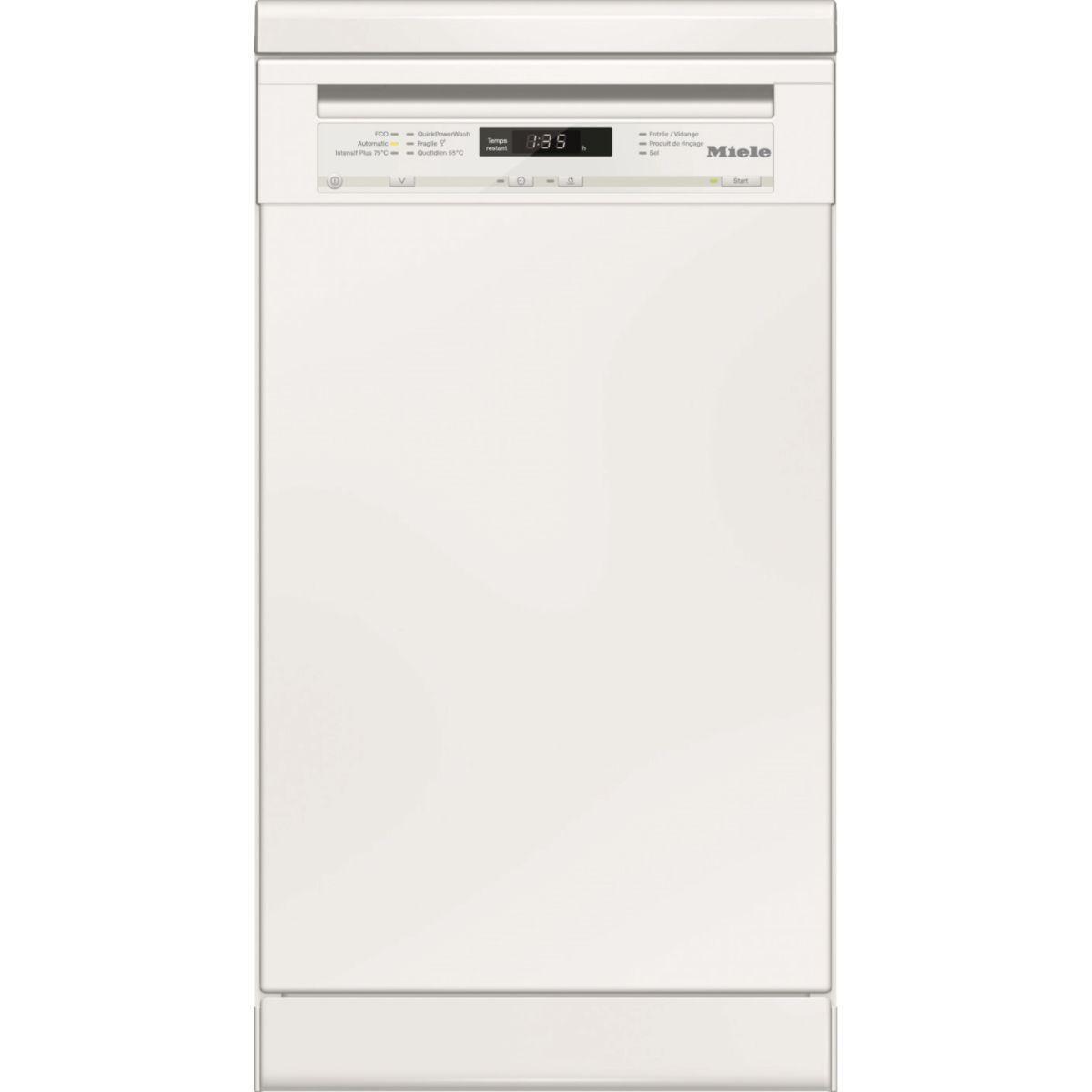 Lave vaisselle 45 cm miele g 4722 sc - livraison offerte : code livprem