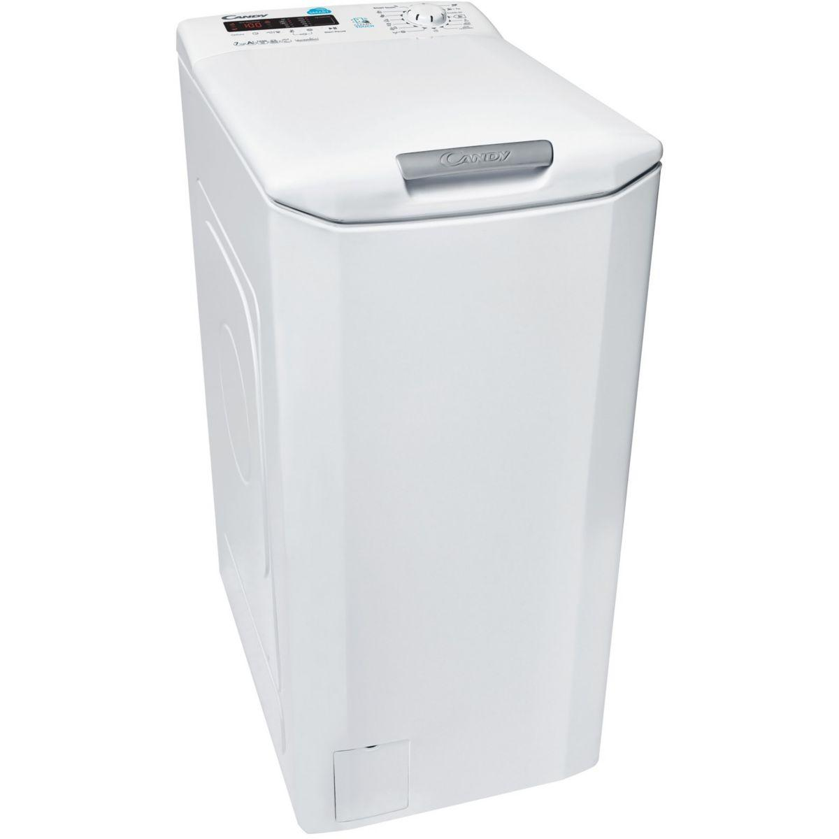 Lave linge top candy cst g372d-s (photo)