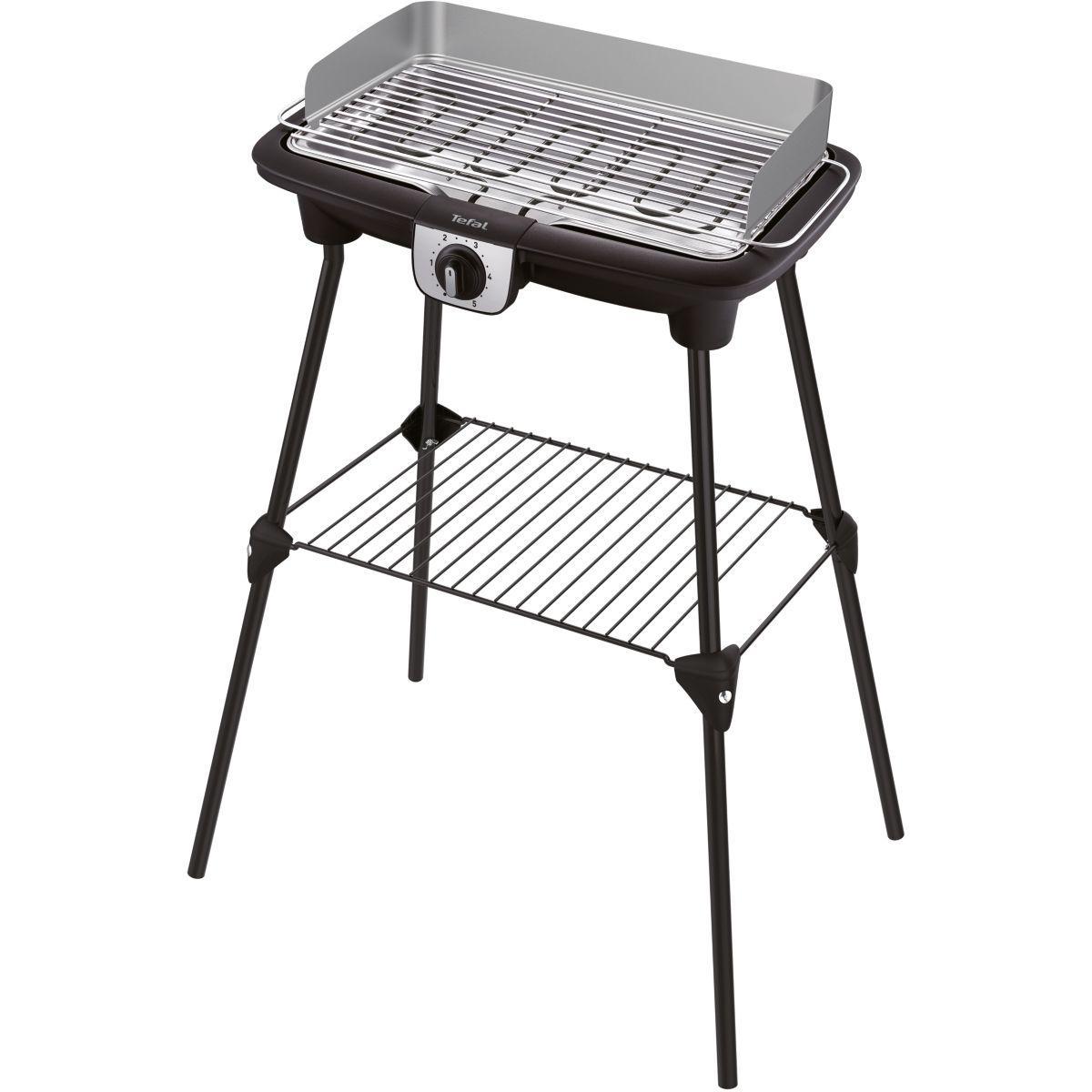 Barbecue �lectrique tefal easygrill xxl pieds bg921812 - livraison offerte : code premium (photo)