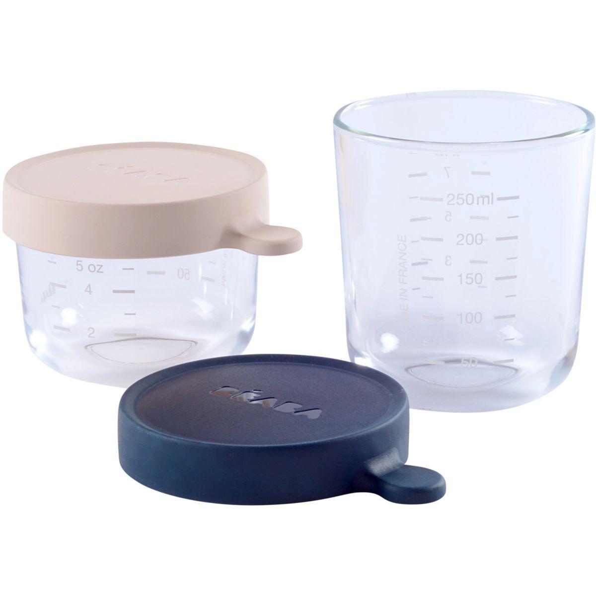 Accessoire pu�riculture beaba 912654 coffret 2 portions verre - livraison offerte : code livrelais (photo)