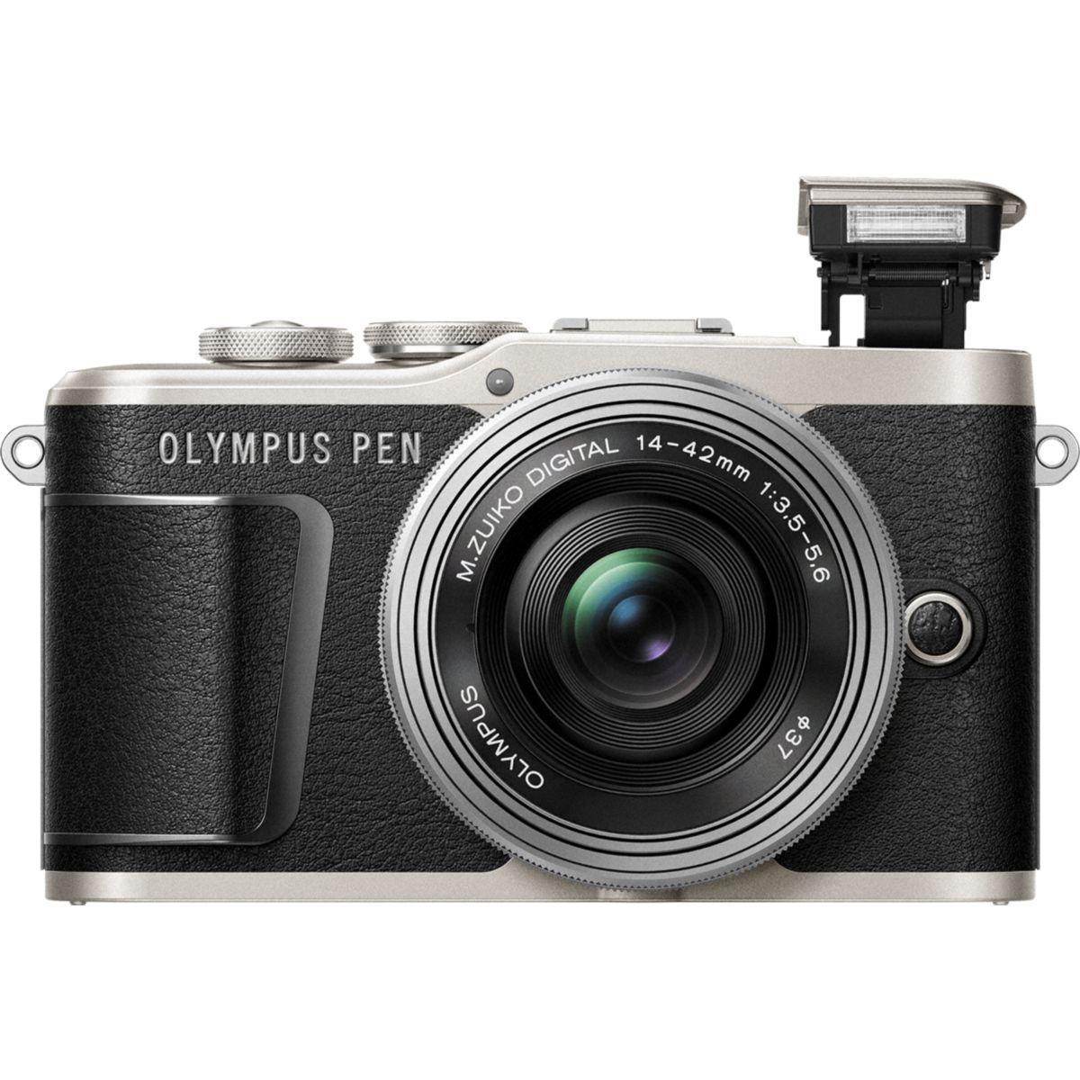 Appareil photo hybride olympus pen e-pl9 noir + ez-m14-42mm ez silver - 10% de remise imm�diate avec le code : deal10
