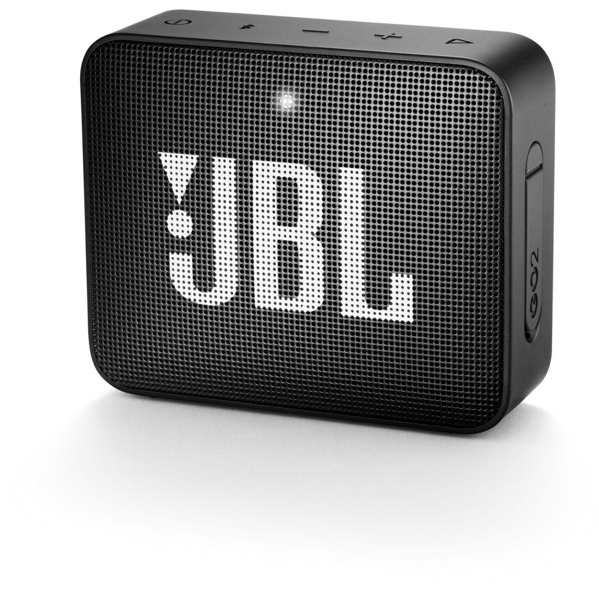 Enceinte bluetooth jbl go 2 noir - livraison offerte : code liv (photo)