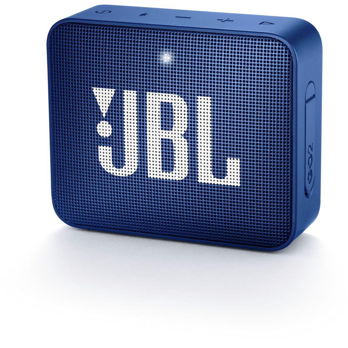 Enceinte bluetooth jbl go 2 bleu - livraison offerte : code liv (photo)