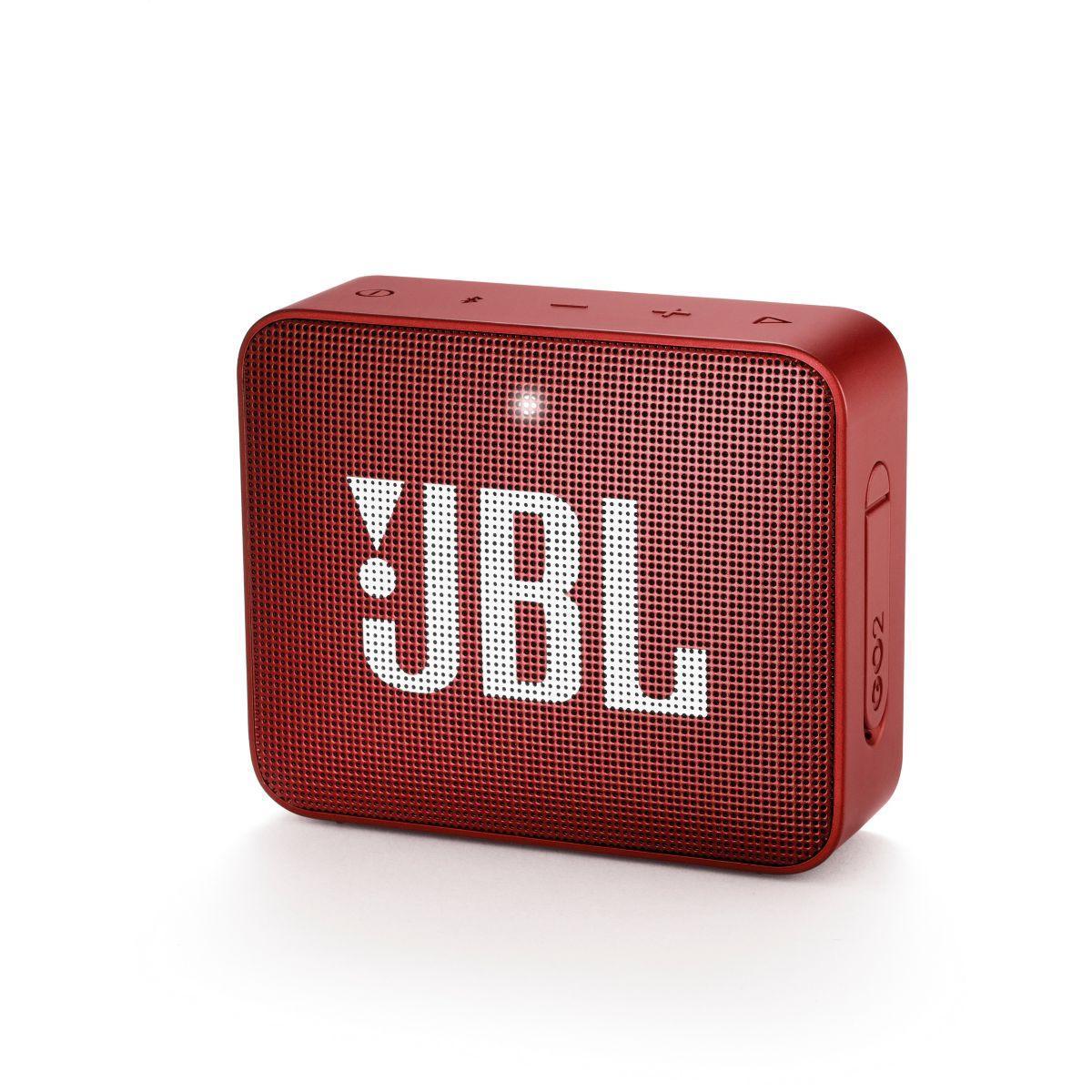 Enceinte bluetooth jbl go 2 rouge (photo)