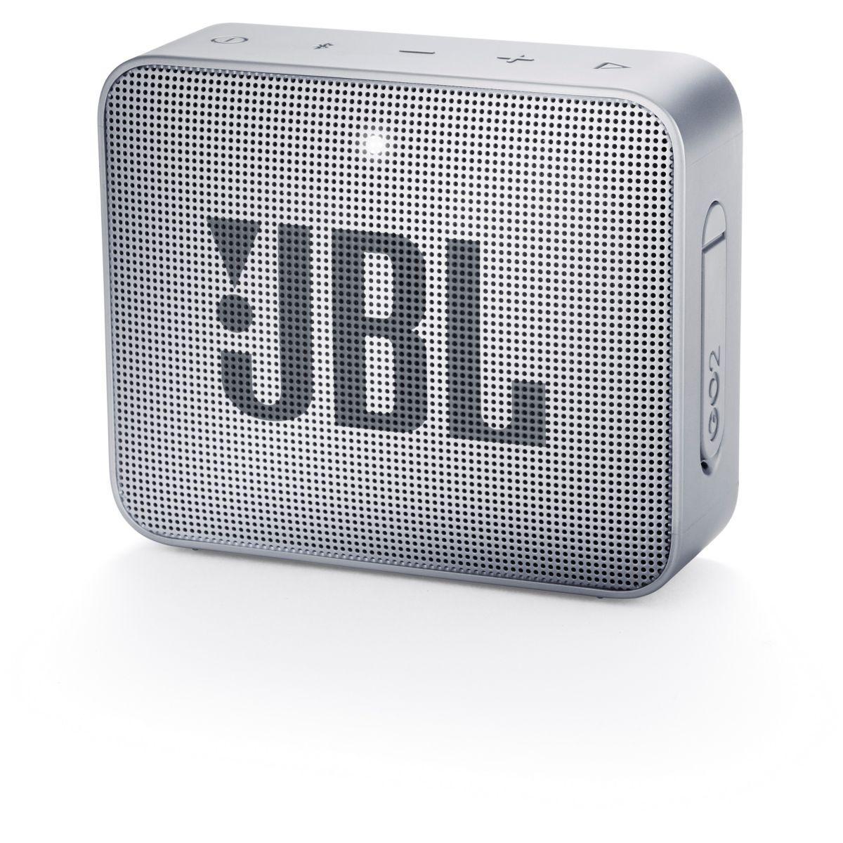 Enceinte bluetooth jbl go 2 gris - livraison offerte : code livdom (photo)