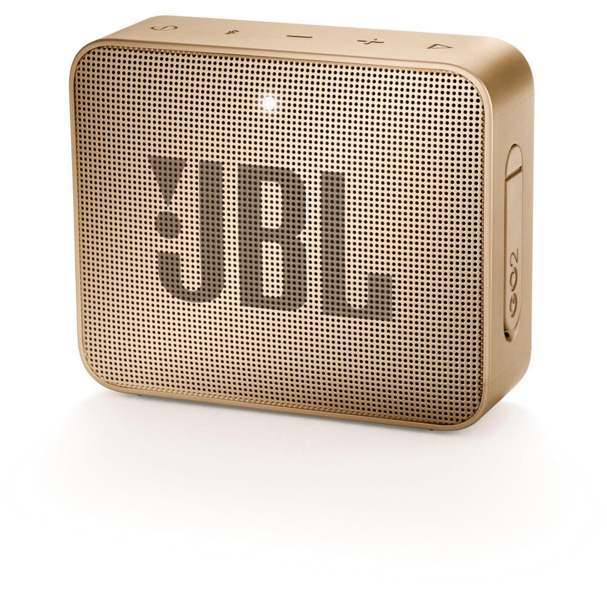 Enceinte bluetooth jbl go 2 champagne - livraison offerte : code livdom (photo)