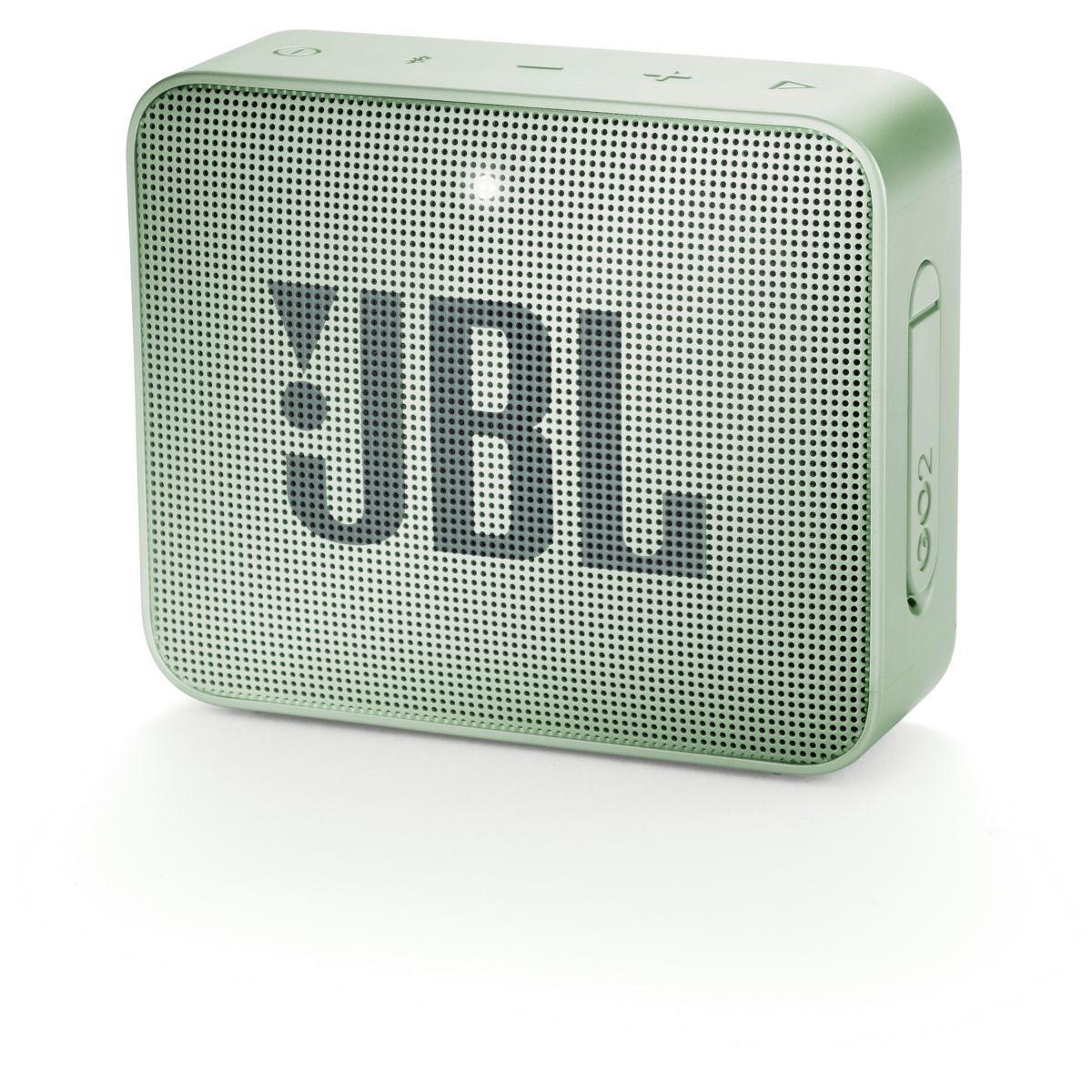 Enceinte bluetooth jbl go 2 vert menthe - livraison offerte : code livdom (photo)